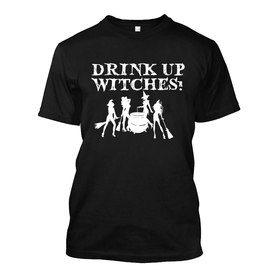 Men's Drink Up Witches (Halloween) - Tshirt