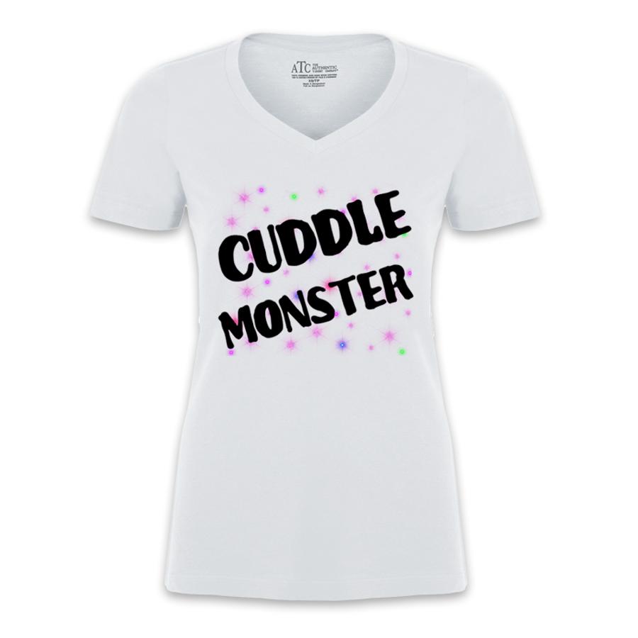 Women'S Cuddle Monster - Tshirt
