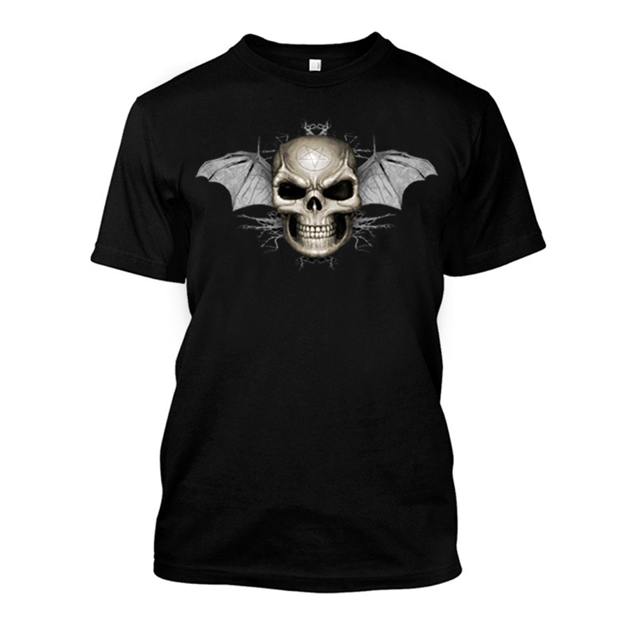 Men'S Skull Wings - Tshirt
