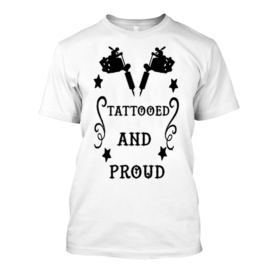 Men'S Tattooed And Proud - Tshirt