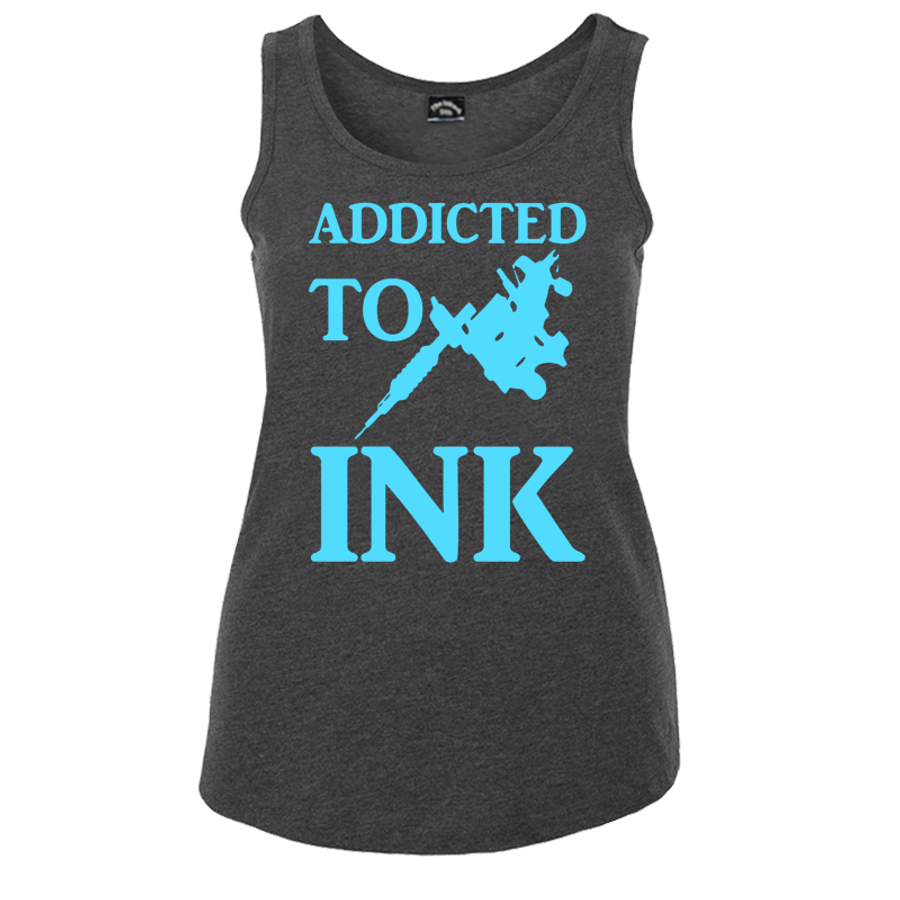 Women'S Addicted To Ink - Tank Top