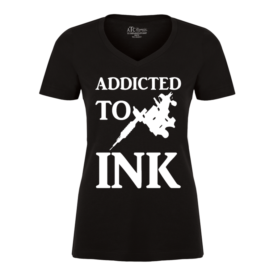 Women'S Addicted To Ink - Tshirt