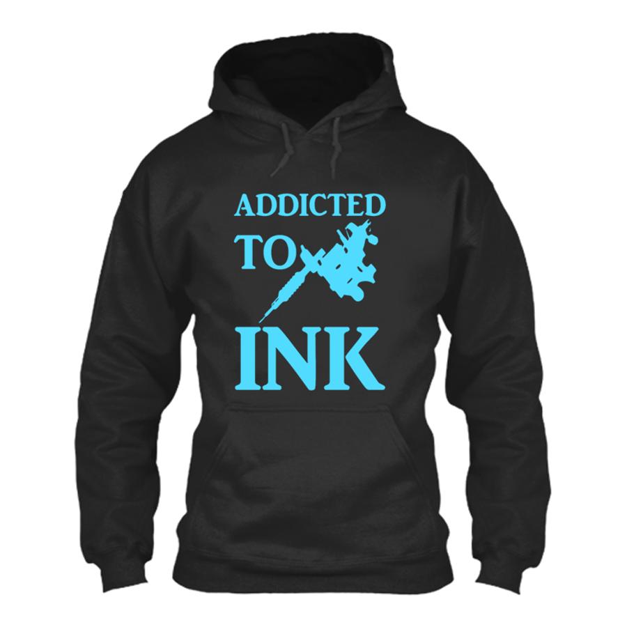 Women'S Addicted To Ink - Hoodie