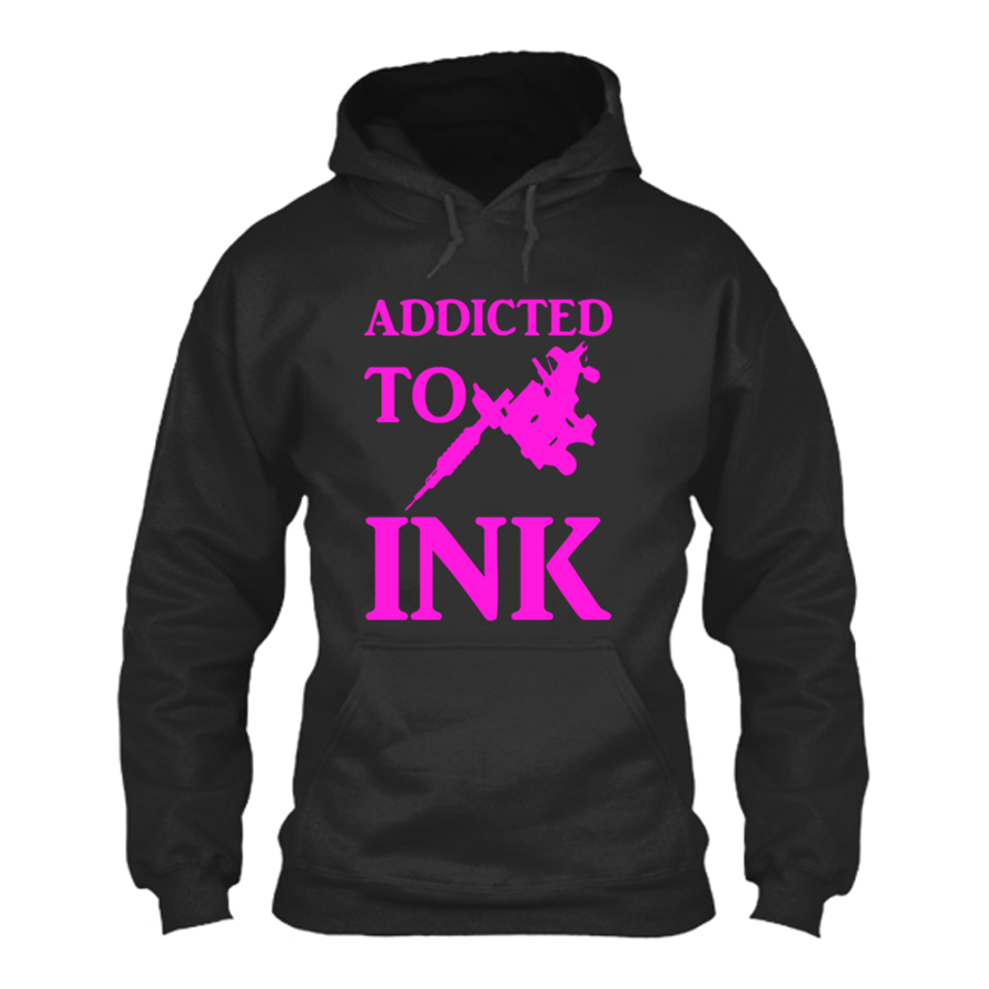 Men'S Addicted To Ink - Hoodie
