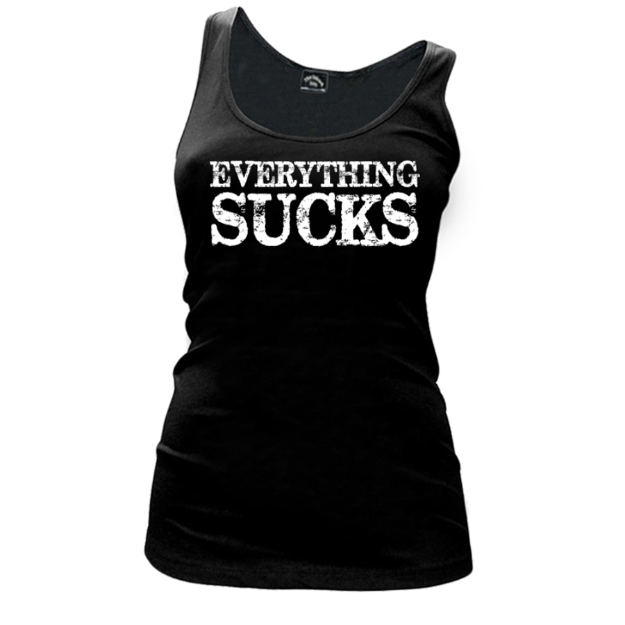 Women'S Everything Sucks - Tank Top
