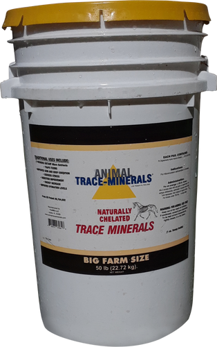 Animal Trace Minerals 50 pounds for horses and cows