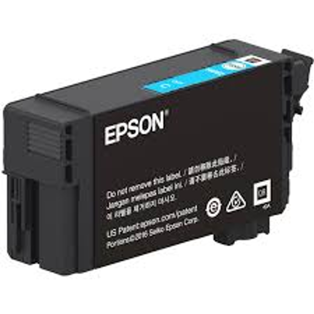 Epson UltraChrome XD2 T40W Yellow High-Capacity Ink Cartridge 50ml