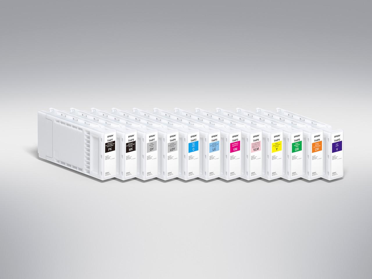 Epson T44W220 Cyan Ink Cartridge, 150 mL