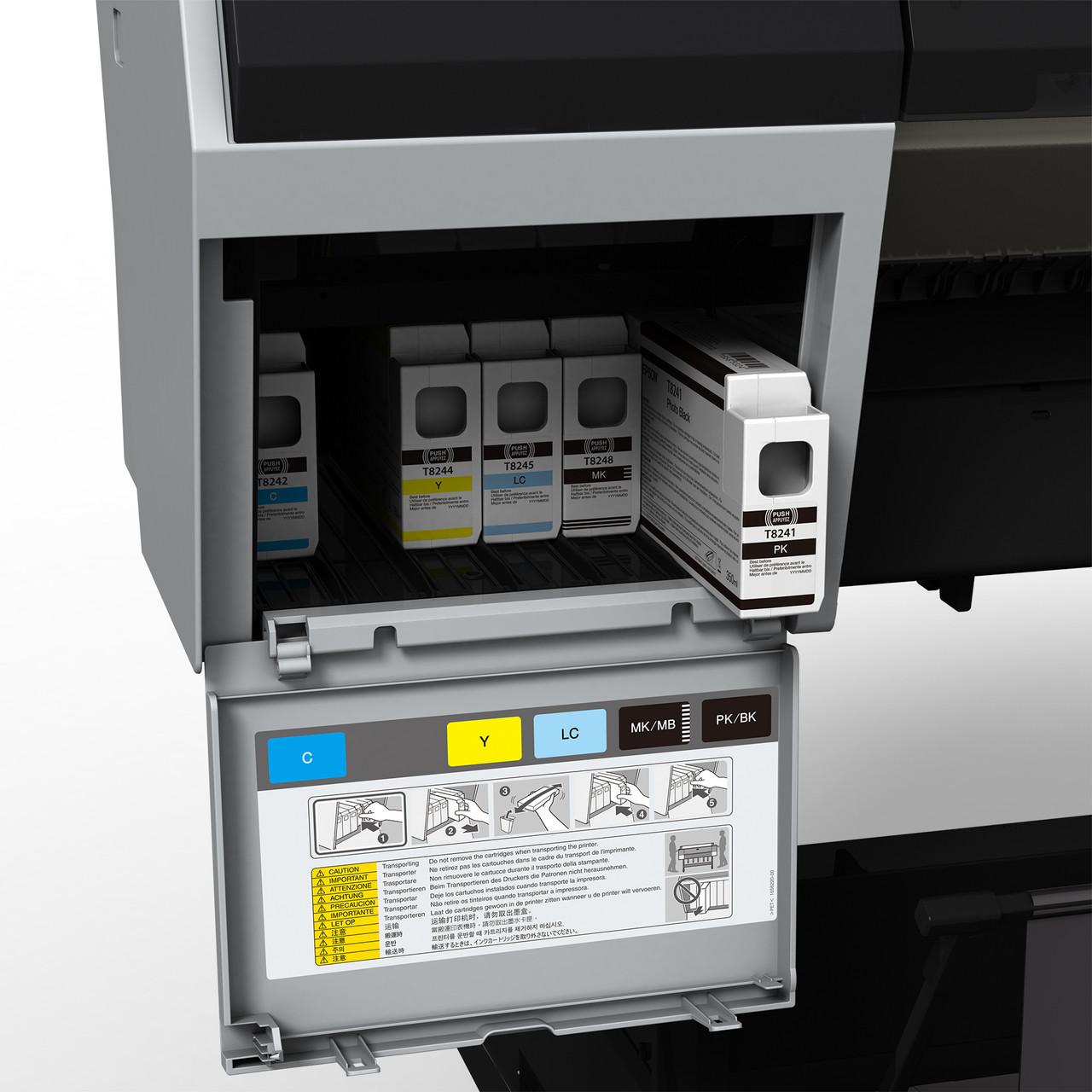 Epson SureColor P8000SE Ink Bay