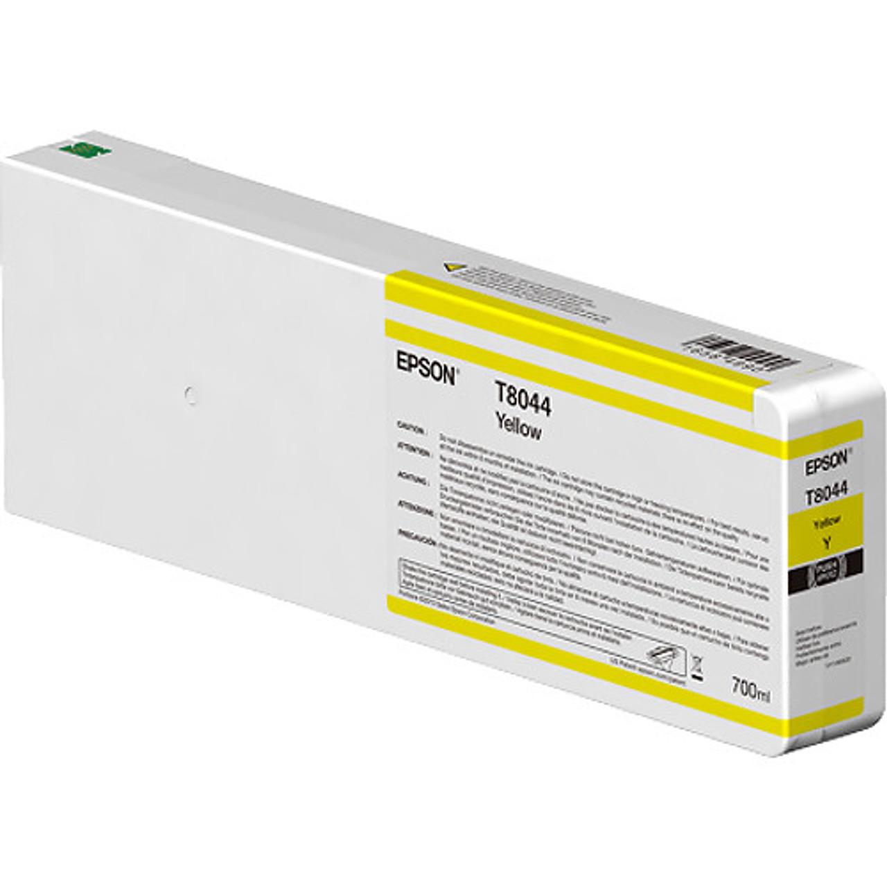 Epson T804400 UltraChrome HD Yellow Ink Cartridge (700ml)