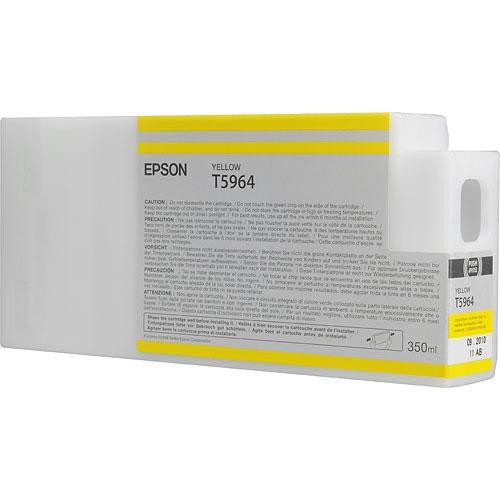Epson T596400 Yellow UltraChrome HDR Ink Cartridge 350 ml
