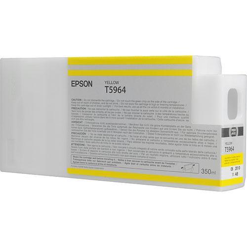 Epson T596400 Yellow UltraChrome HDR Ink Cartridge 350 ml