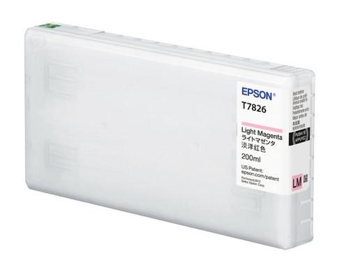 Epson D870 Light Magenta Ink Cartridge (200 mL)