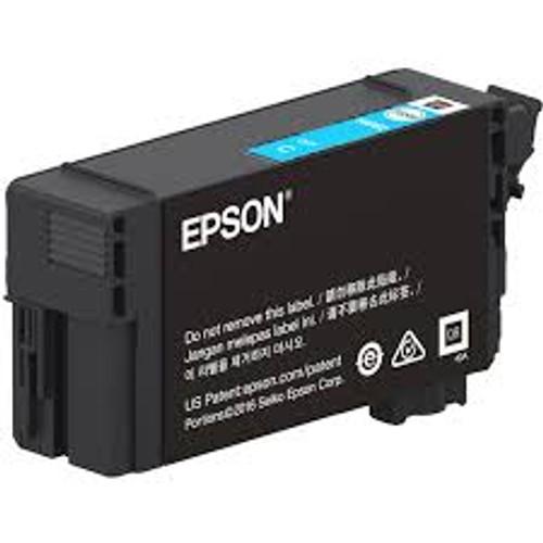 Epson UltraChrome XD2 T40W Cyan High-Capacity Ink Cartridge 50ml