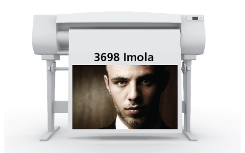 3698 Sihl Impola Photo Paper 42 in. x 100 Ft. roll