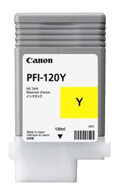 Canon PFI-120 Yellow Ink Cartridge (130mL)