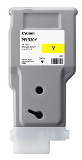 Canon PFI-320Y Yellow Ink Cartridge (300mL)