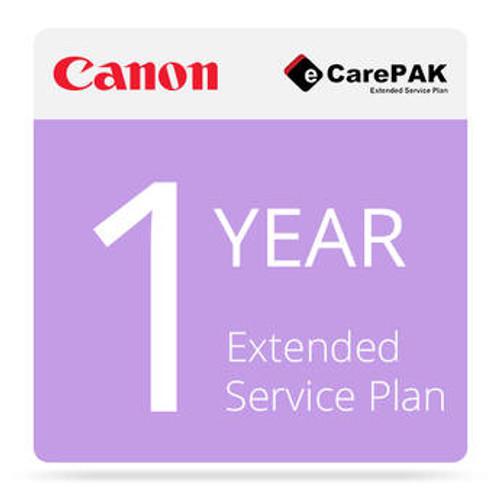 Canon eCarePAK Extended 1 -Year Service Plans
