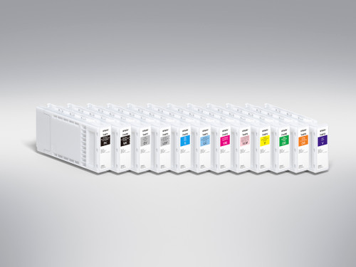 Epson T44P420 Yellow Ink Cartridge, 350 mL
