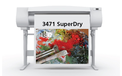 3471 Satin Grey Back Roll-Up Display Film 42 in. x 100 ft. (347142100)