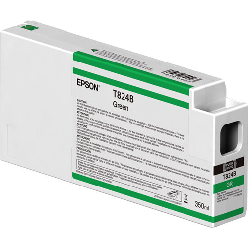 Epson T824B00 UltraChrome HDX Green Ink Cartridge (350ml)