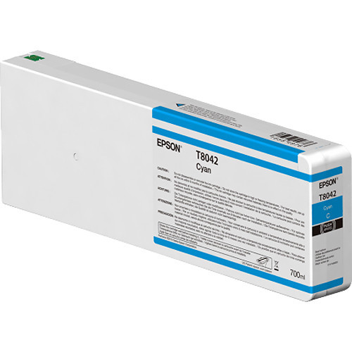 Epson T804200 UltraChrome HD Cyan Ink Cartridge (700ml)
