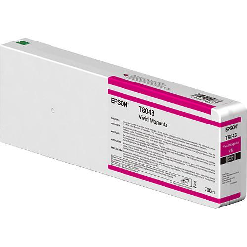 Epson T804300 UltraChrome HD Vivid Magenta Ink Cartridge (700ml)