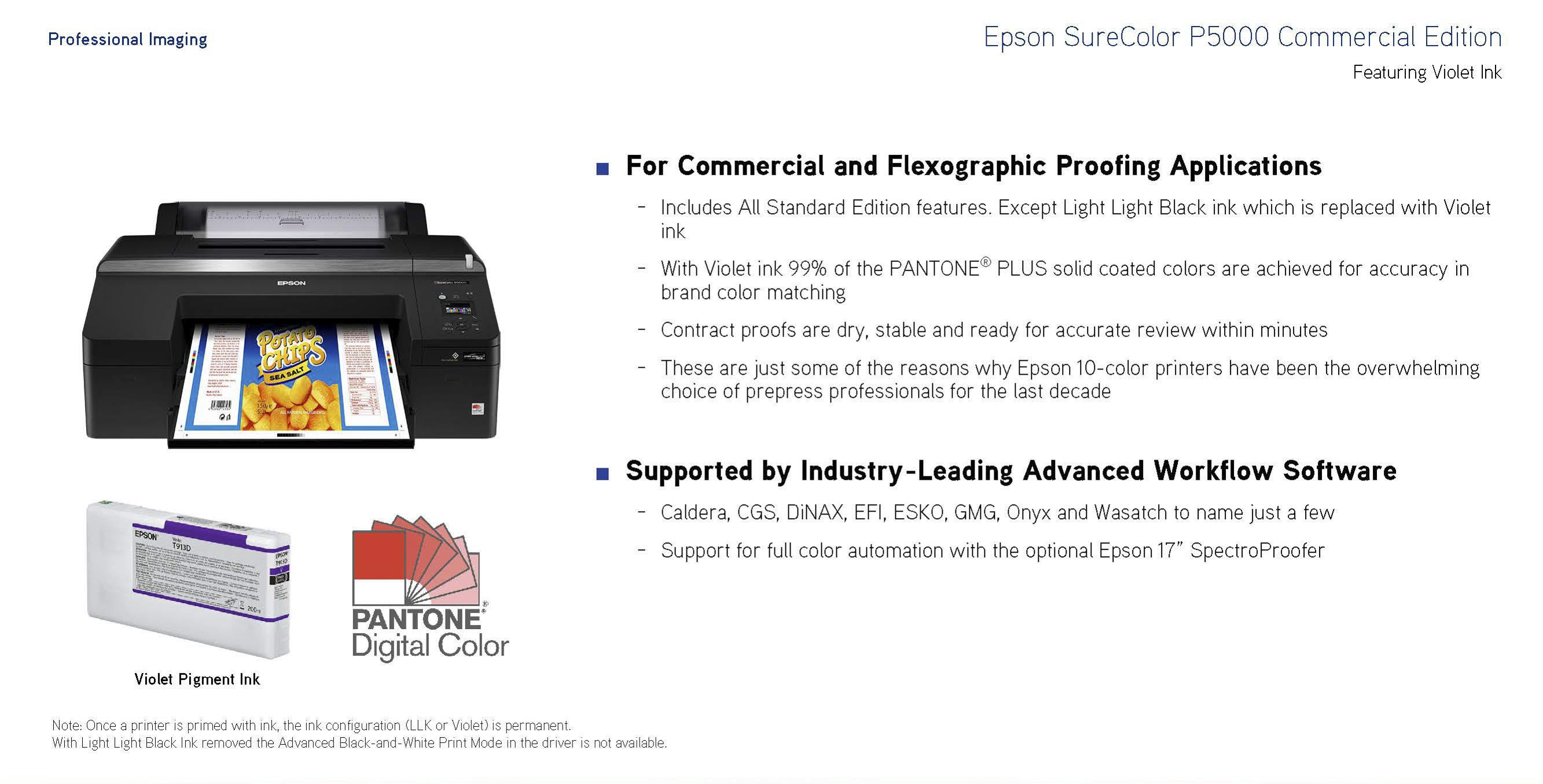 Epson SCP5000SE 17