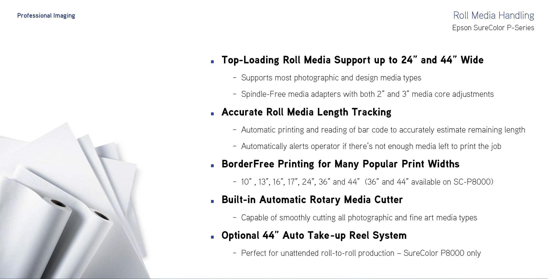 roll media handling