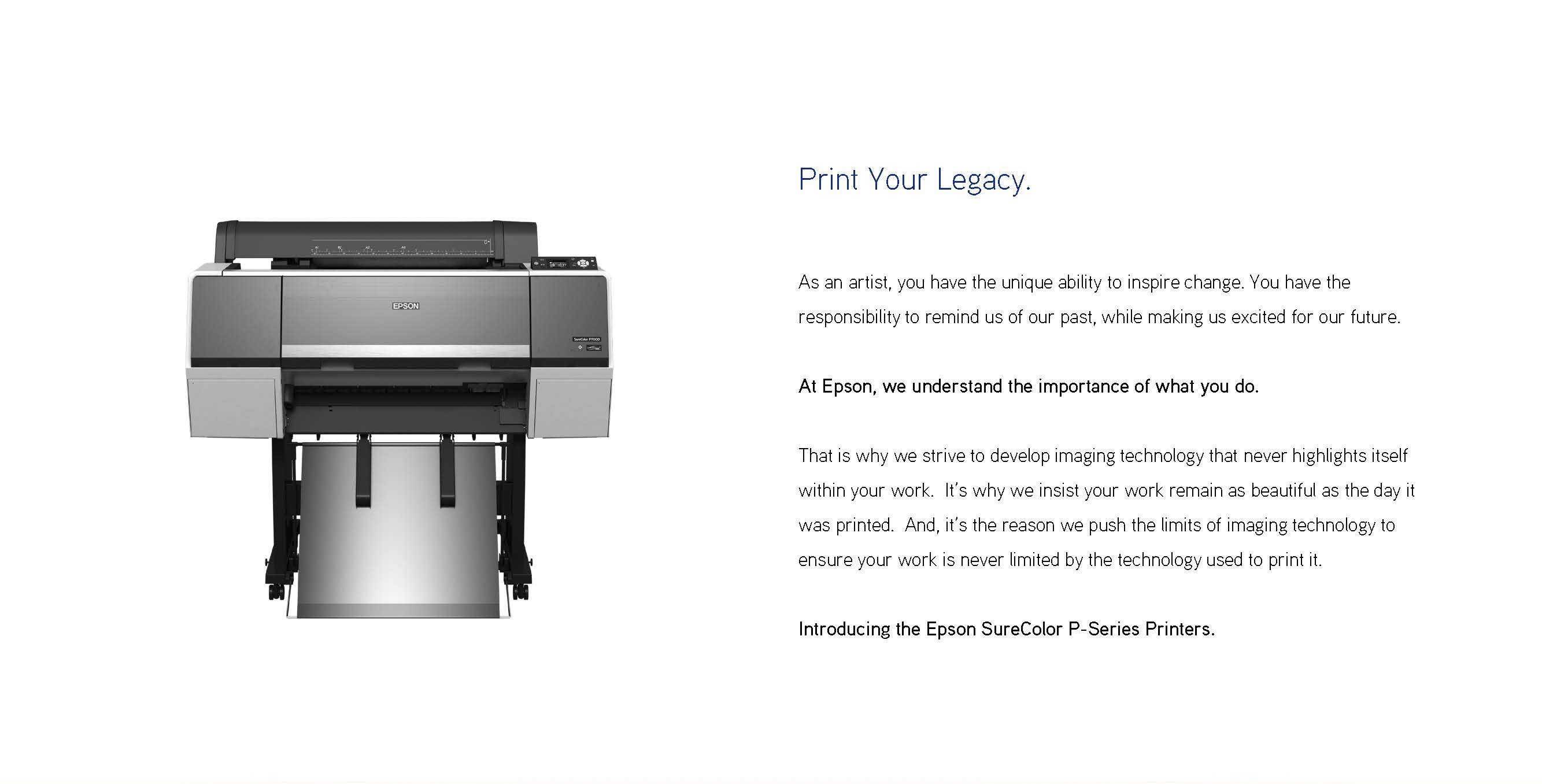 print your legacy