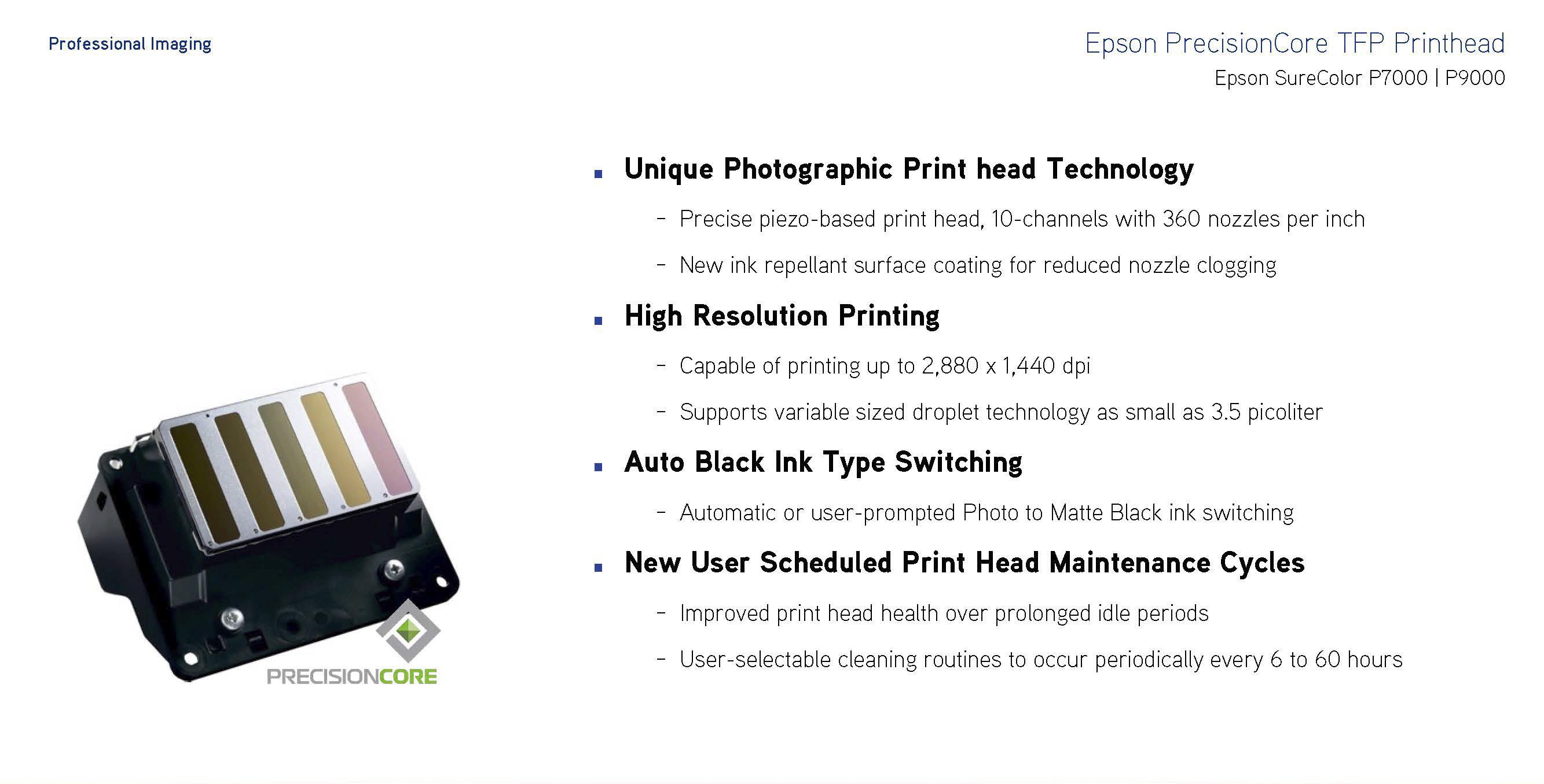 precisioncore pft printhead