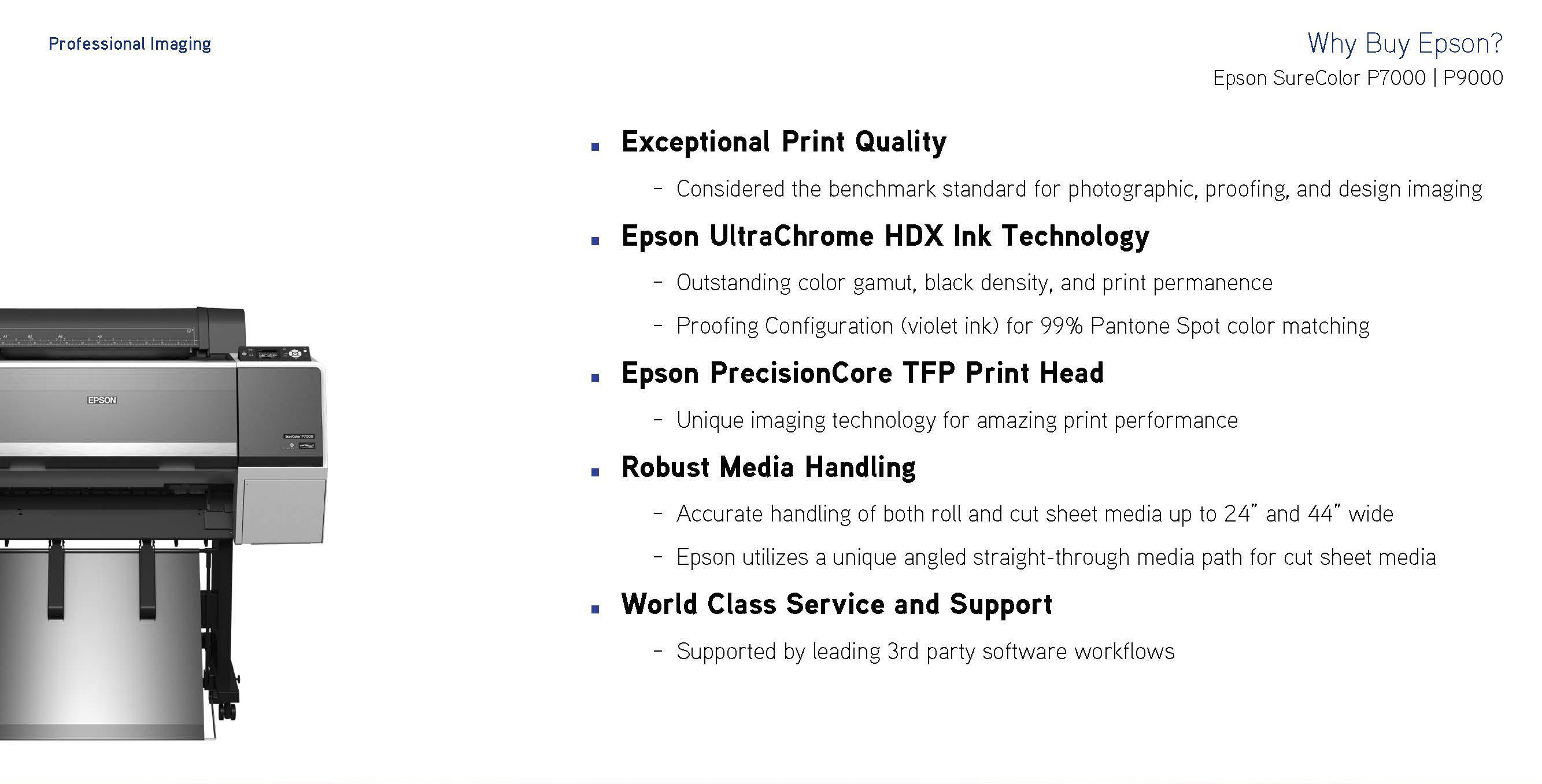 why buy epson
