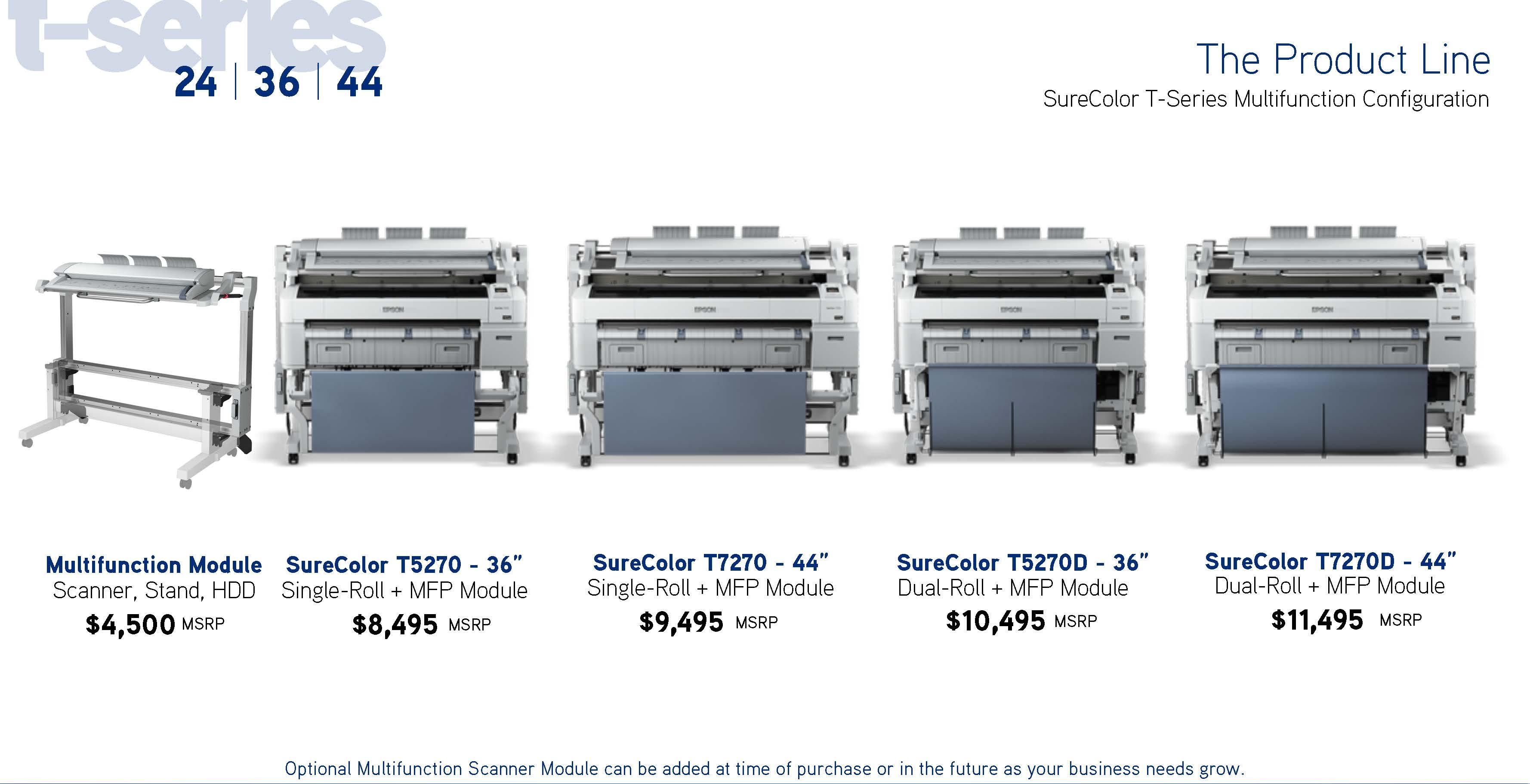 SureColor T-Series Multifunction Configuration