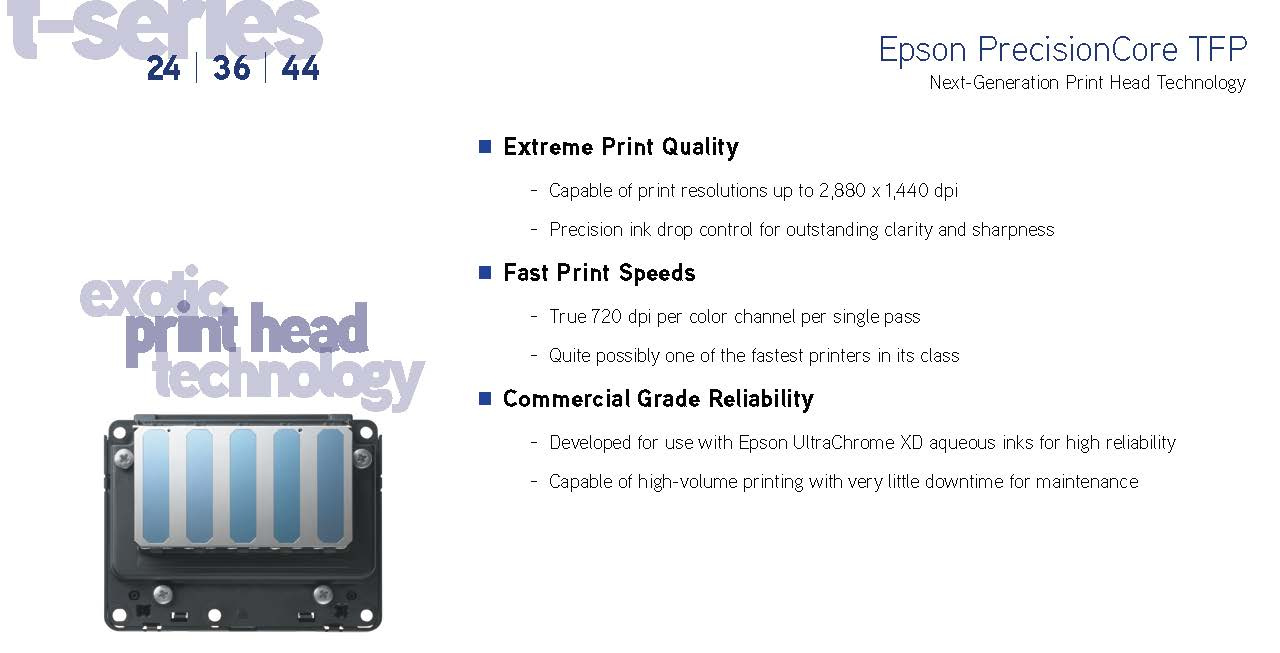 next-generation print head technology