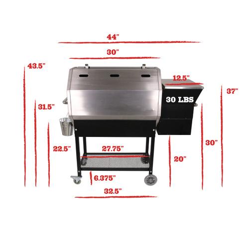 Stampede RT-590 Wood Pellet Grill - REC TEC Grills
