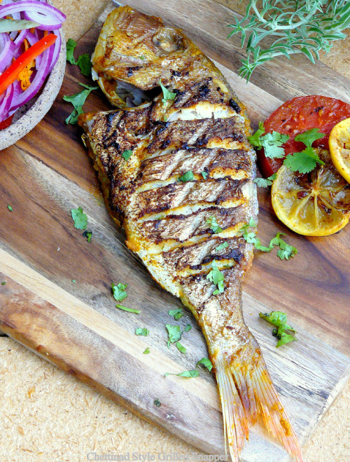 How to cook whole red snapper on bbq