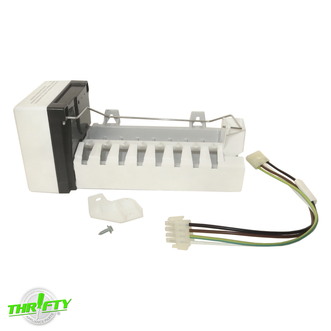 Compatible with W10190978 Icemaker D7824706Q Refrigerator Ice Maker Replacement for Maytag MSD2732GRW