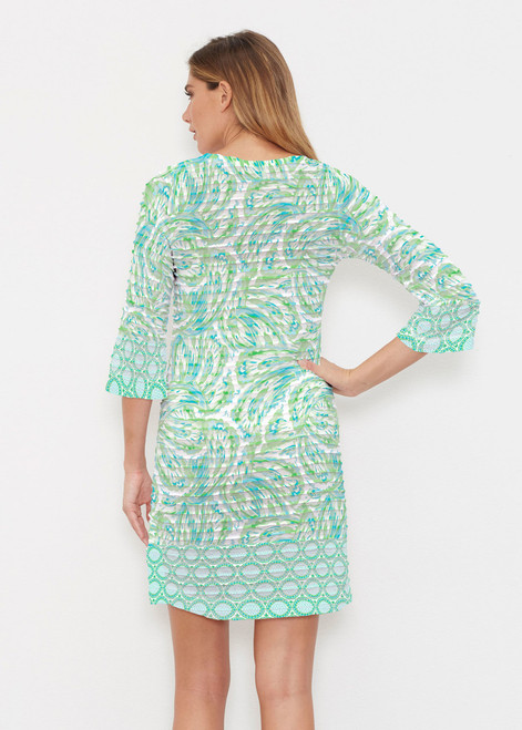 c15bddb44a ... Whimsy Rose | Banded Coverup Dress | Coastal Paisley Lace Green