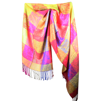 Silk and Pashmina - Meditation Wrap - Blissful for All Occasions