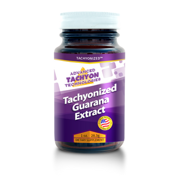 Tachyonized Guarana is suggested for weight loss, improving athletic performance, as an aphrodisiac and delivers a strong dose of caffeine