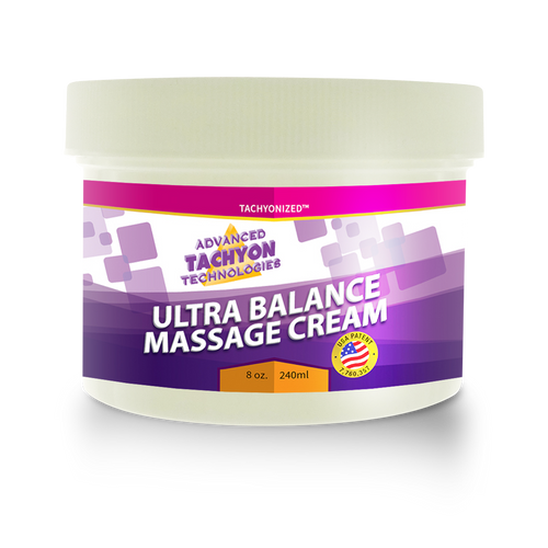 Tachyonized Ultra-Bal. Massage Cream 224g  - Double the Size