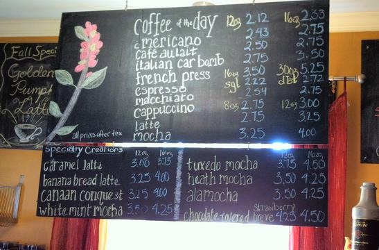Coffee Shop Lingo