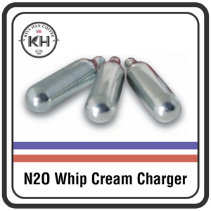 Nitrous Oxide (N20) Whipped Cream Chargers - Box of 24