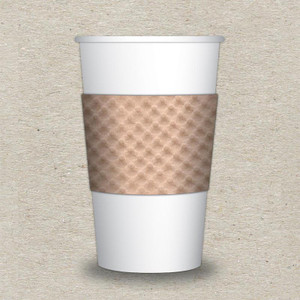 Java Jacket ECO II Coffee Sleeves - Case of 1000