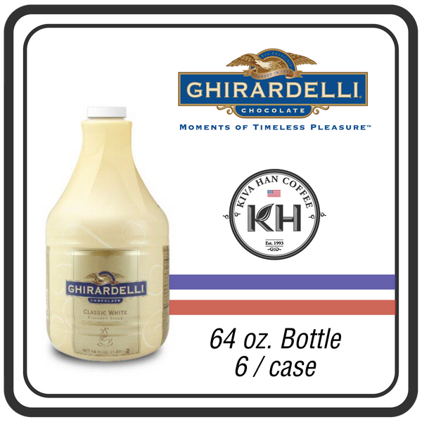 Ghirardelli Sauce - White Chocolate