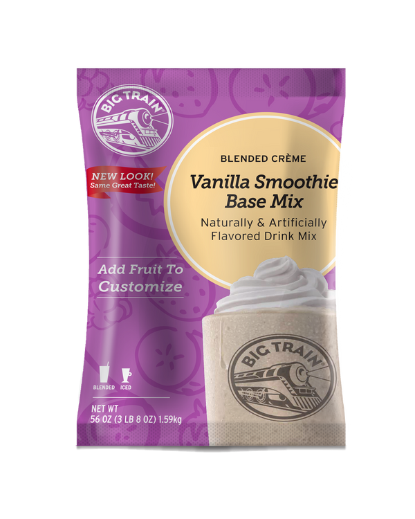 Big Train Vanilla Smoothie Mix - BULK (3.5 lb bag)