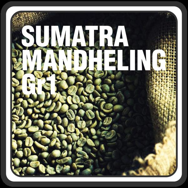 Sumatra Mandheling, Grade 1: Green Beans