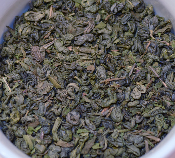 Hē Chá Tea: Moroccan Mint Green - 1 Lb Loose Leaf