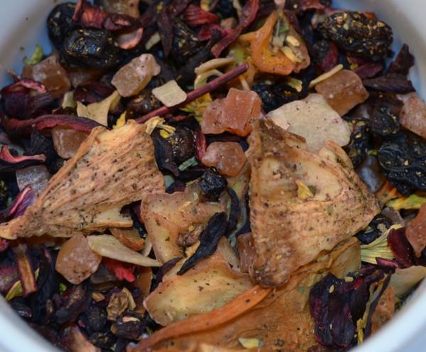 Hē Chá Tea: Taste of Paradise Fruit Tisane - 1 Lb Loose Leaf