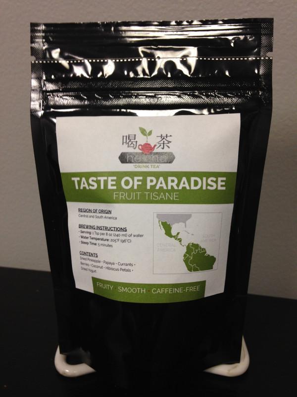 Hē Chá Taste of Paradise Fruit Tisane - 1.5 oz Retail Pouch